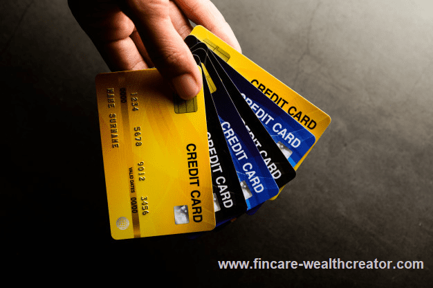 Multi credit cards and financial management